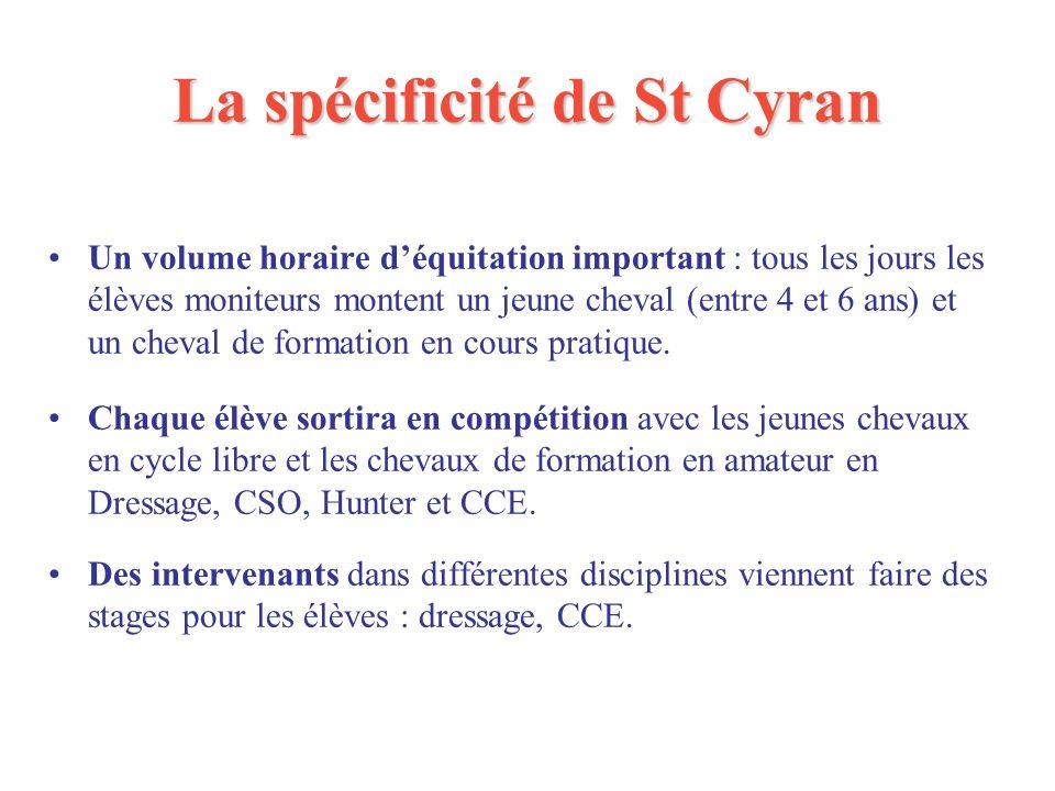 La spécificité de St Cyran