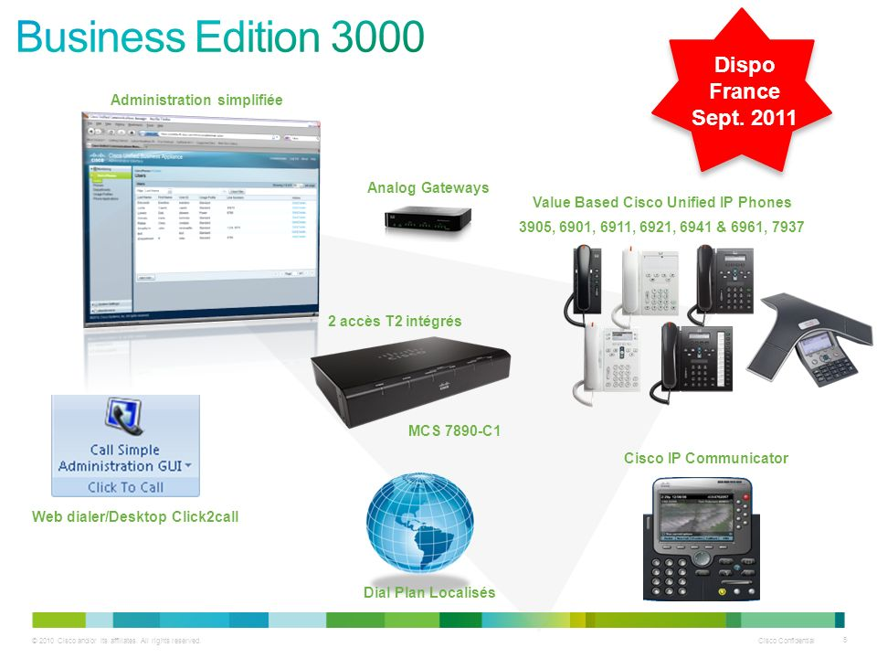 Business Edition 3000 Dispo France Sept. 2011
