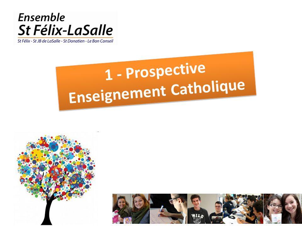 1 - Prospective Enseignement Catholique