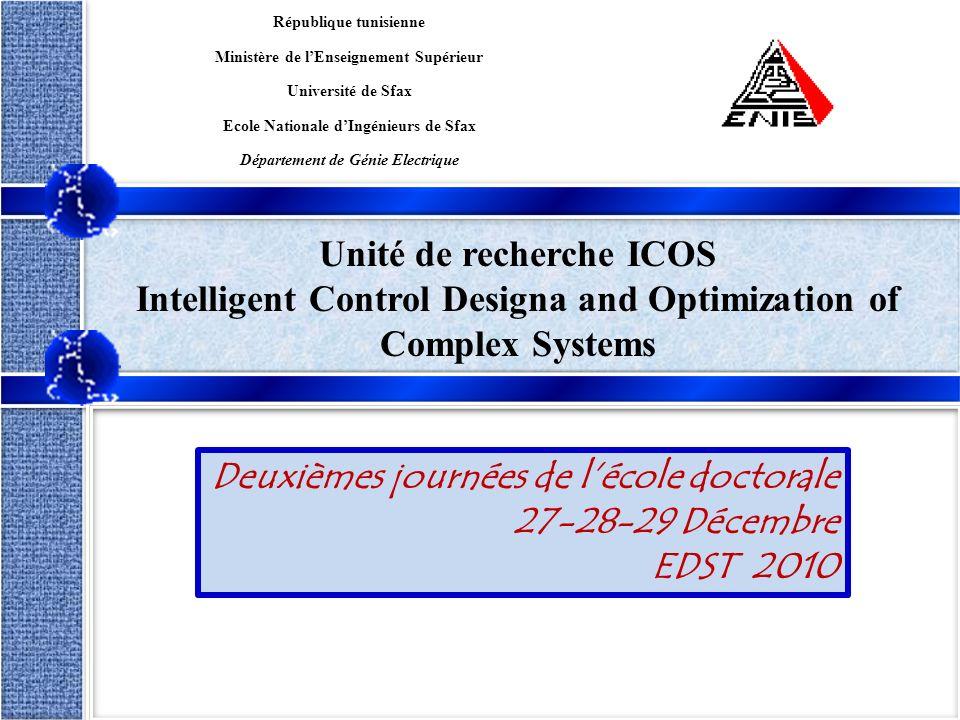 Unité de recherche ICOS