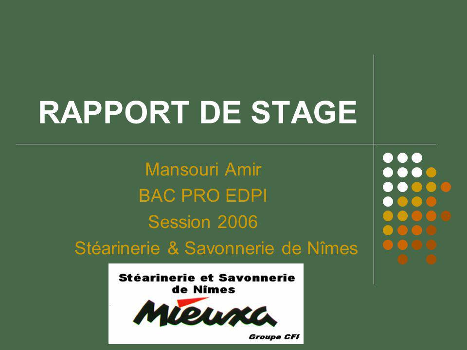 rapport de stage mansouri amir bac pro edpi session ppt video online t l charger. Black Bedroom Furniture Sets. Home Design Ideas