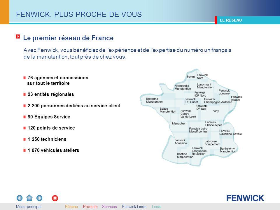 FENWICK, PLUS PROCHE DE VOUS