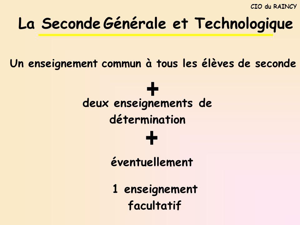 + + La Seconde Générale et Technologique