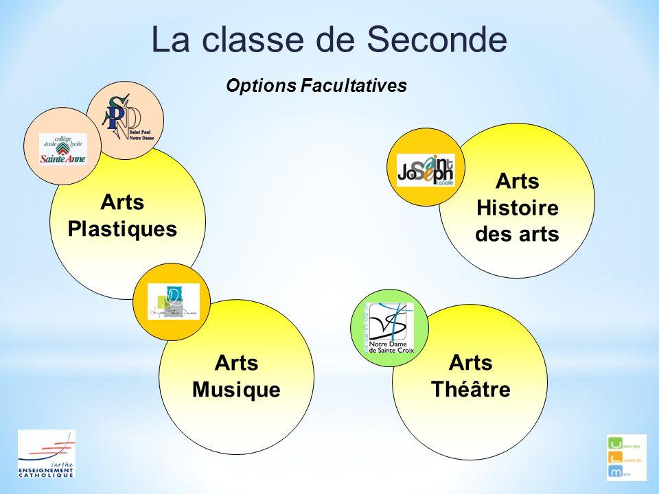 La classe de Seconde Arts Histoire des arts Arts Plastiques