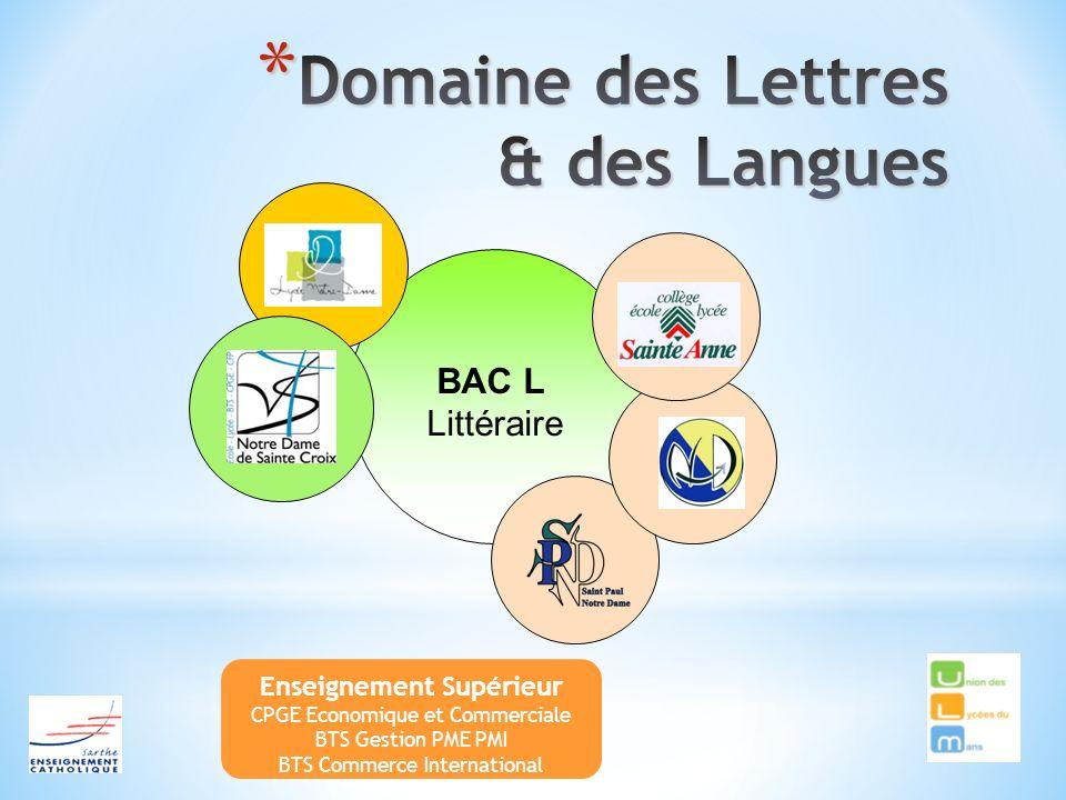 Domaine des Lettres & des Langues