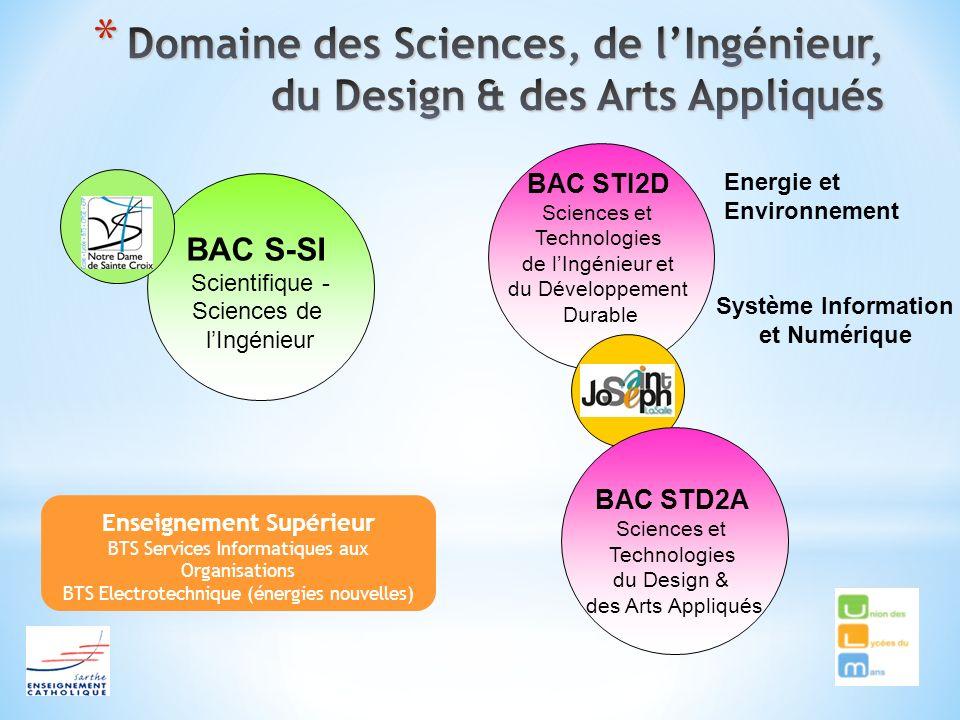 Domaine des Sciences, de l'Ingénieur, du Design & des Arts Appliqués