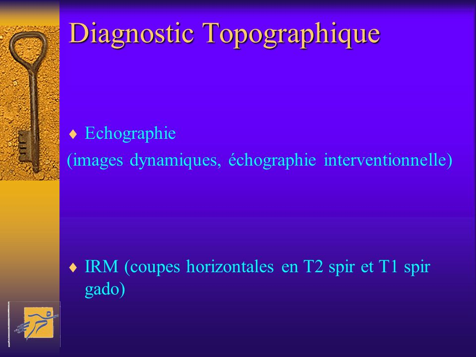 Diagnostic Topographique
