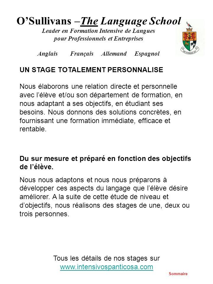 Tous les détails de nos stages sur www.intensivospanticosa.com