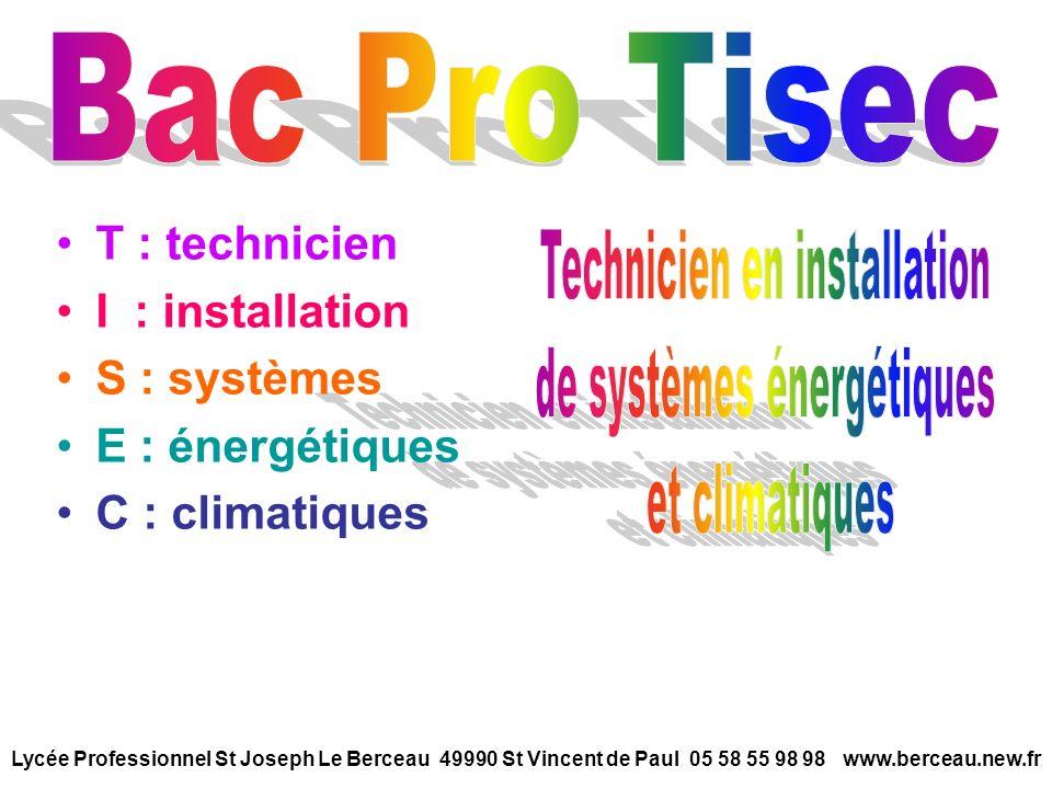 Technicien en installation de systèmes énergétiques et climatiques