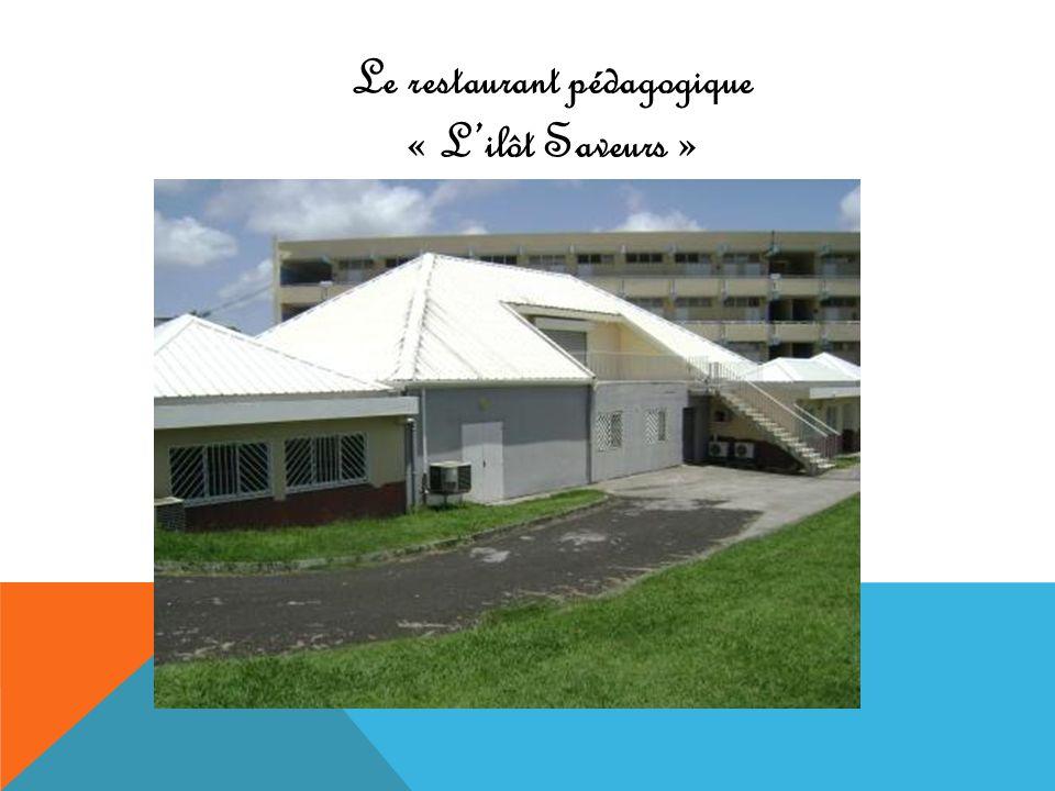 Le restaurant pédagogique « L'ilôt Saveurs »