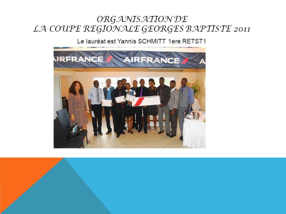 LA COUPE REGIONALE GEORGES BAPTISTE 2011