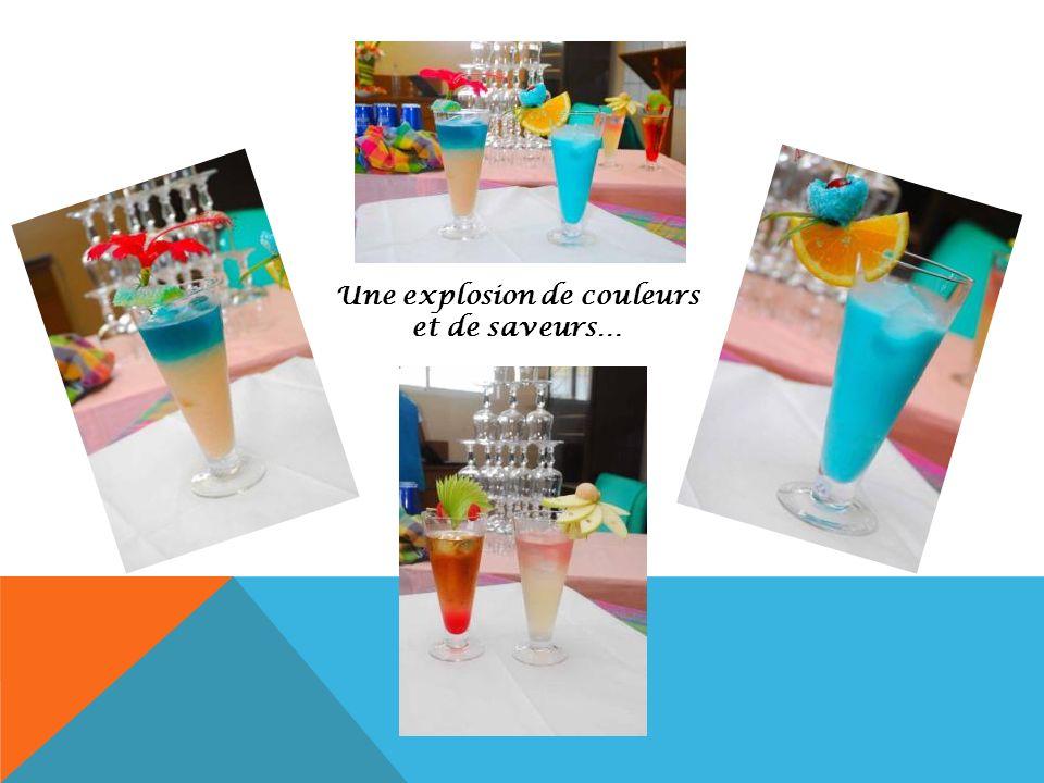 Une explosion de couleurs et de saveurs…