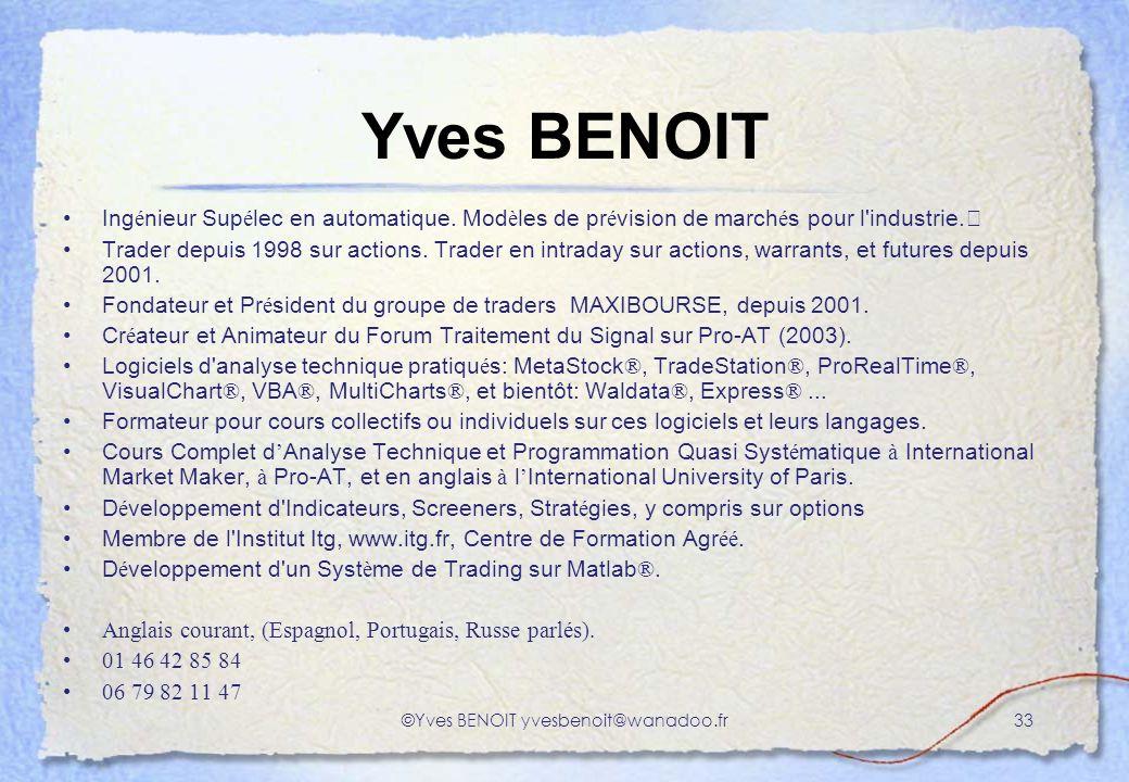 ©Yves BENOIT yvesbenoit@wanadoo.fr