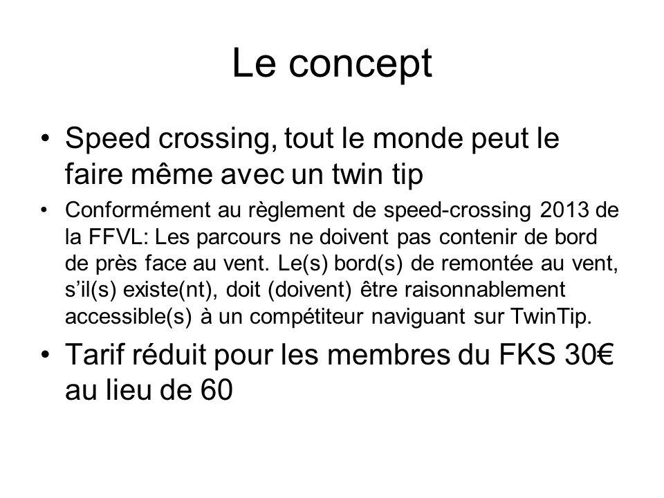 Le concept Speed crossing, tout le monde peut le faire même avec un twin tip.