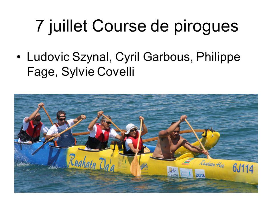 7 juillet Course de pirogues