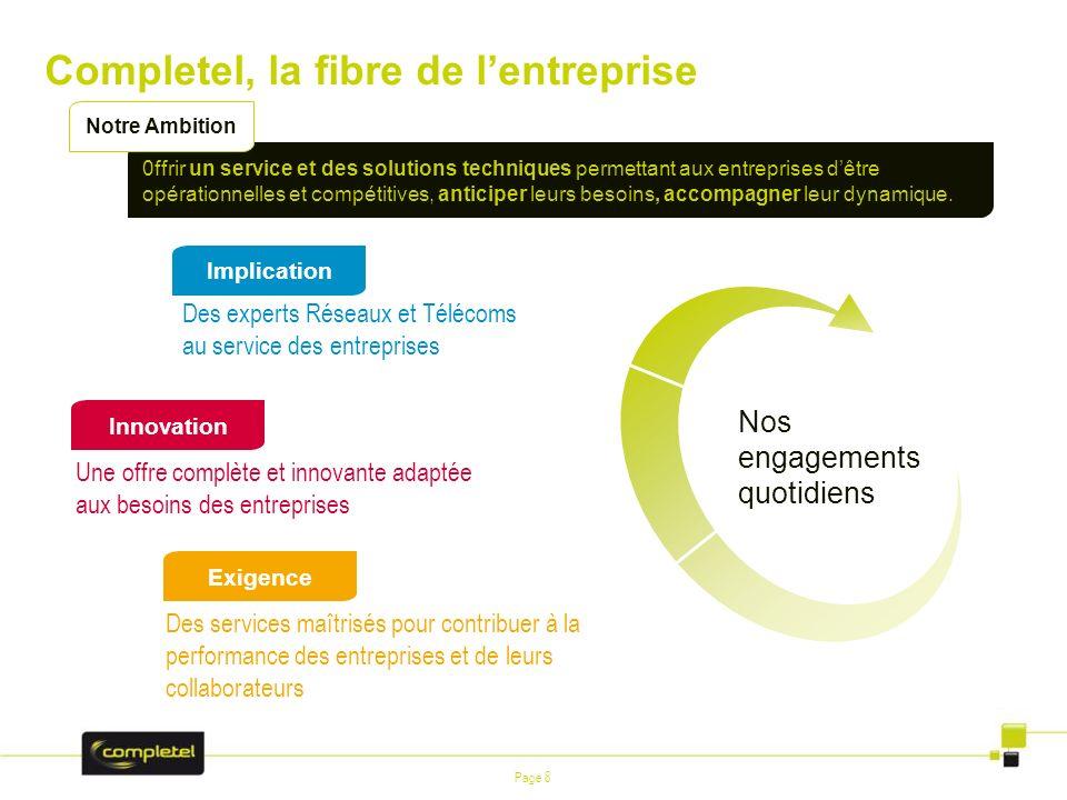 Completel, la fibre de l'entreprise