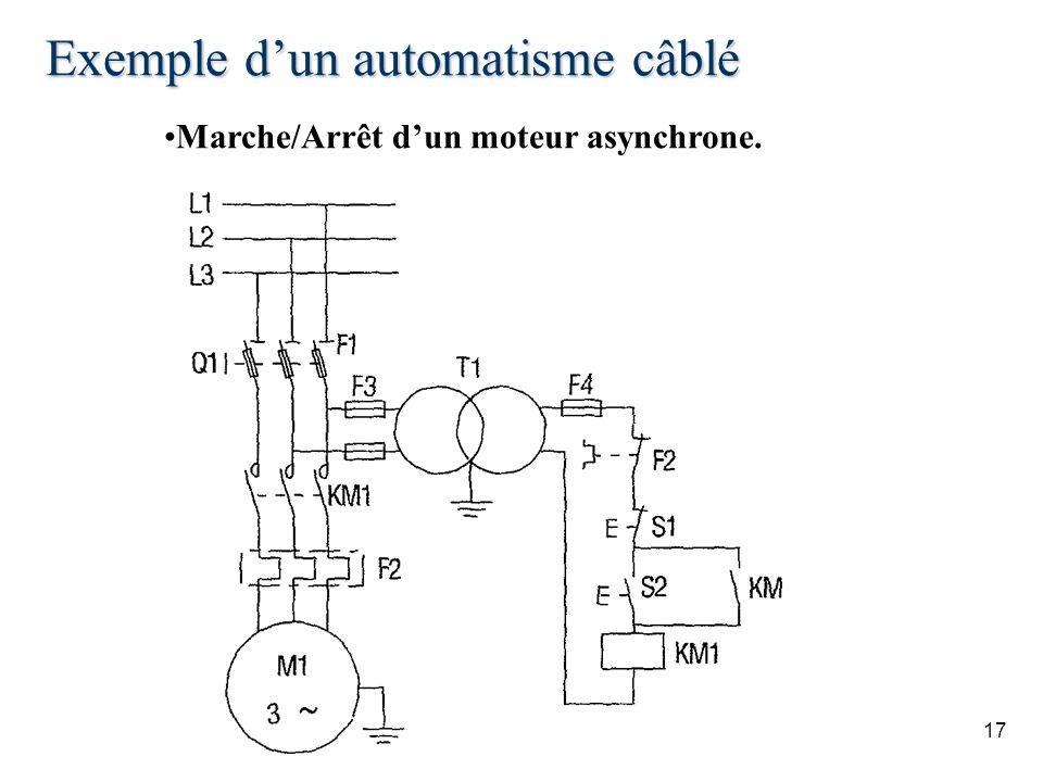 Exemple d'un automatisme câblé