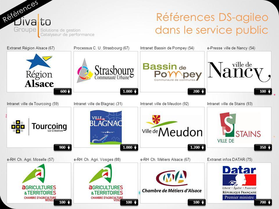 Références DS-agileo dans le service public