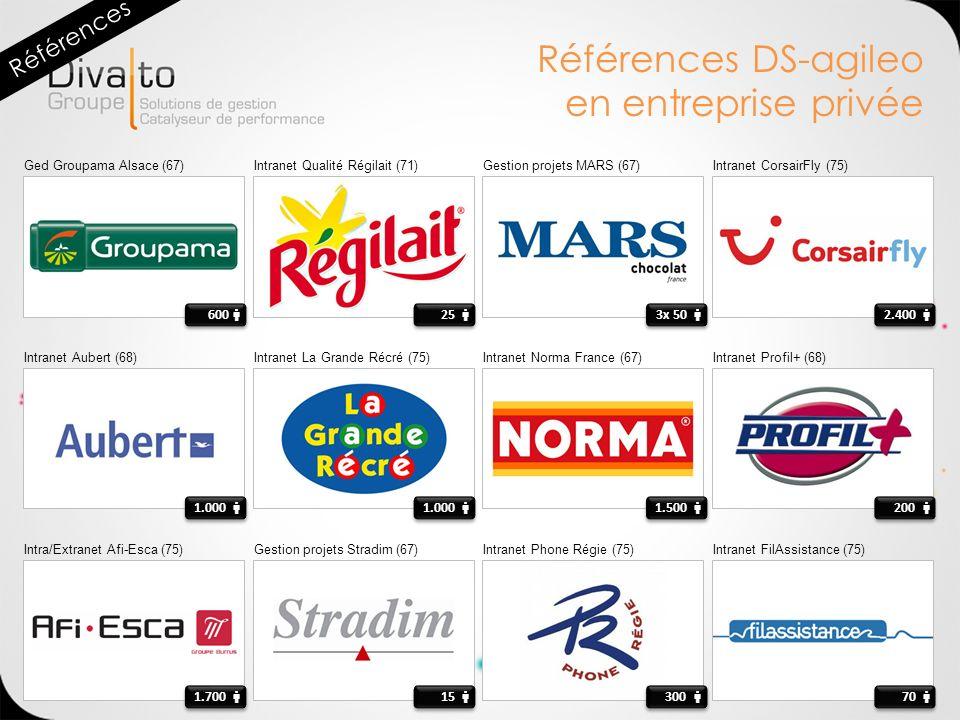 Références DS-agileo en entreprise privée