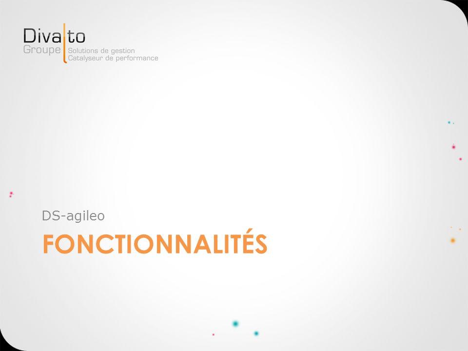 DS-agileo Fonctionnalités