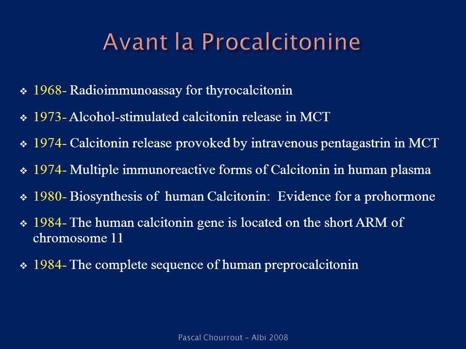 Avant la Procalcitonine