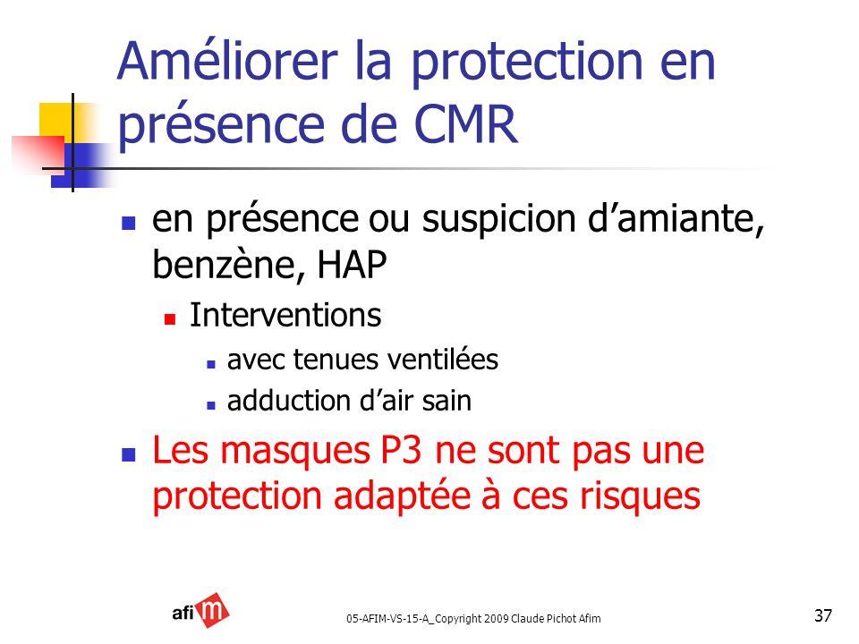 Améliorer la protection en présence de CMR