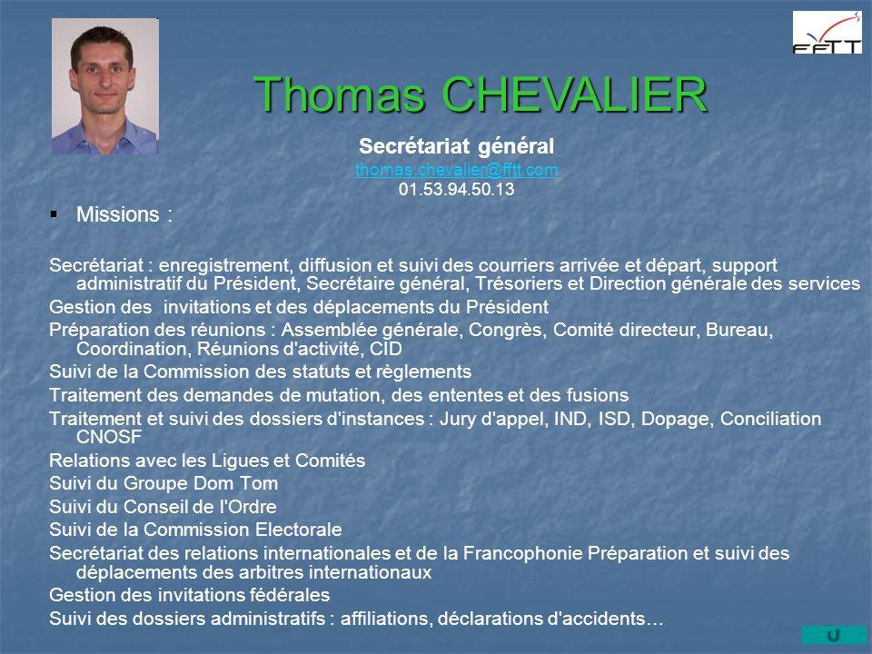 Secrétariat général thomas.chevalier@fftt.com