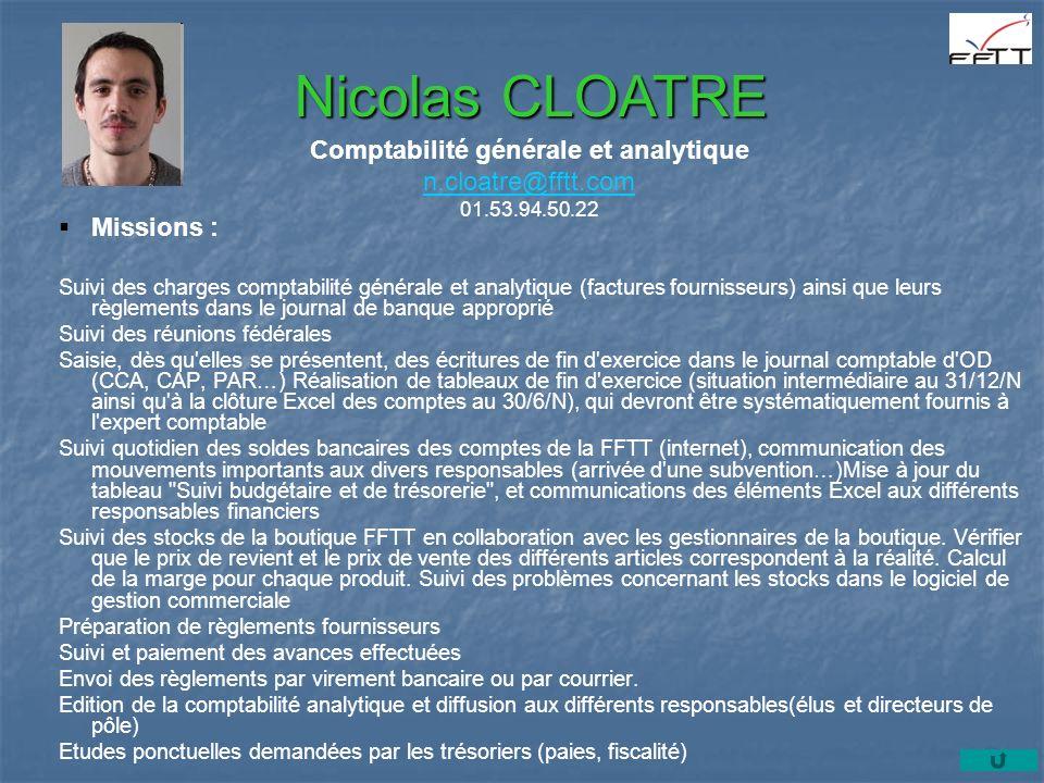 Comptabilité générale et analytique