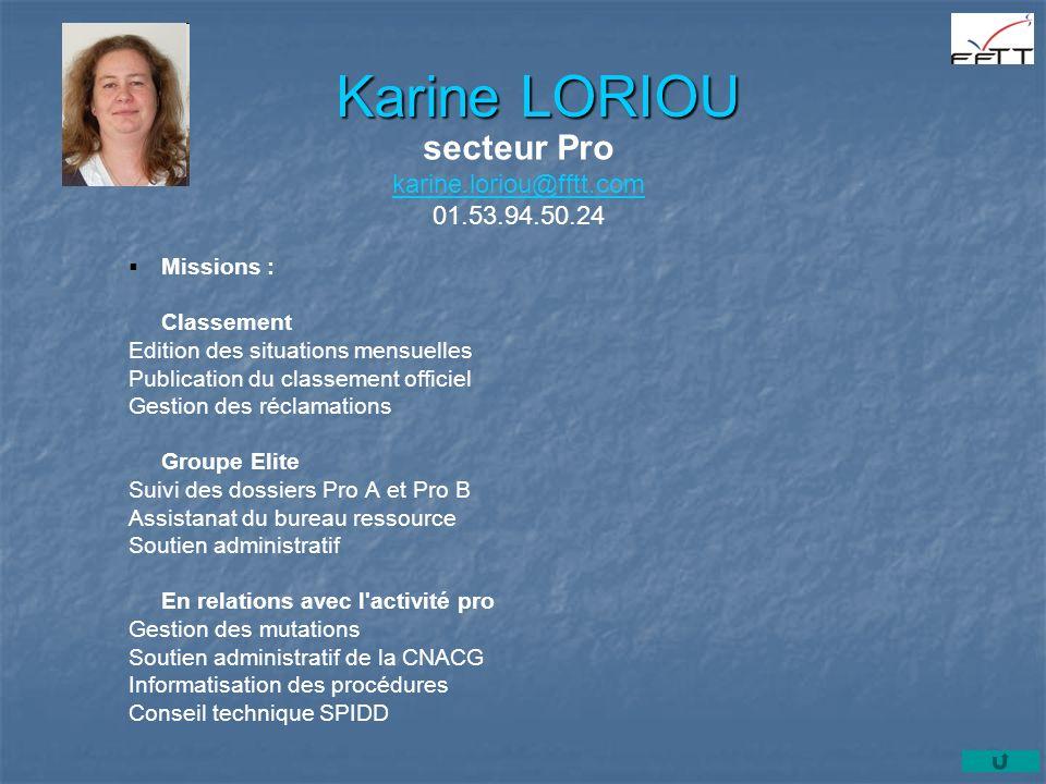 secteur Pro karine.loriou@fftt.com