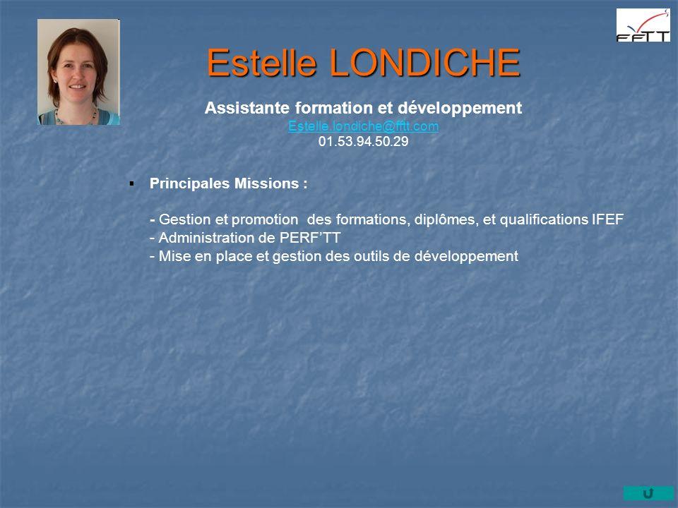 Assistante formation et développement