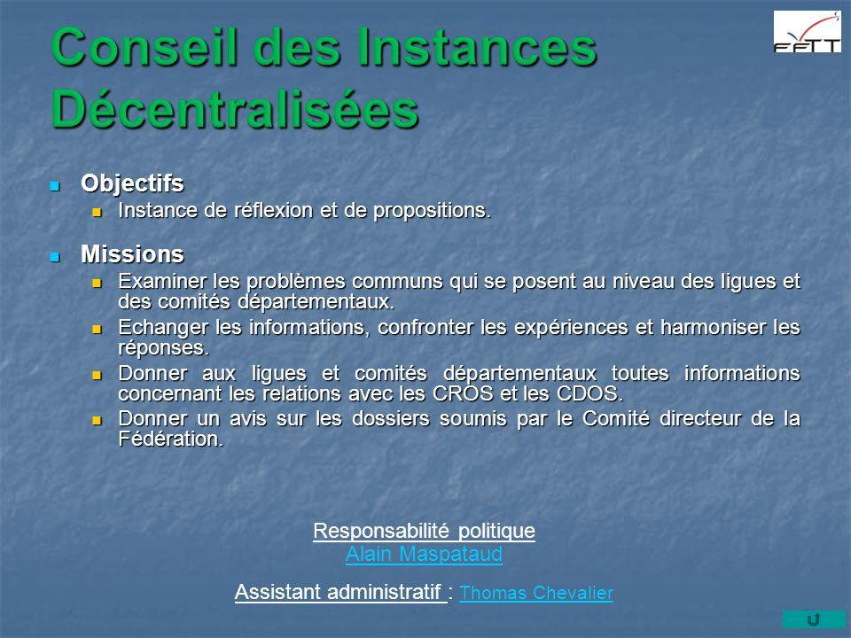Conseil des Instances Décentralisées