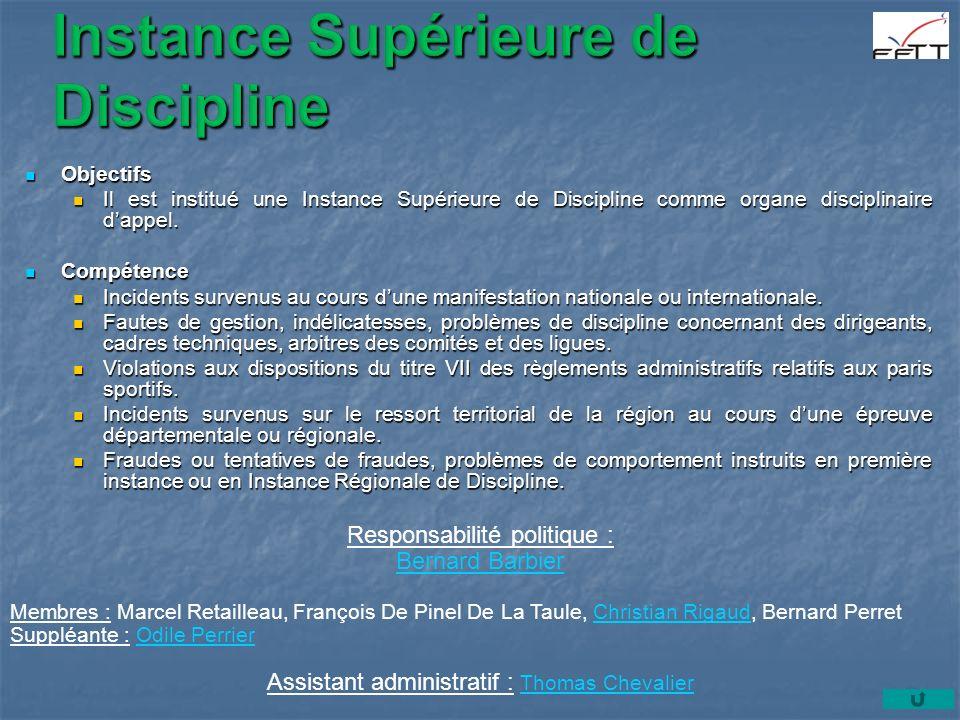 Instance Supérieure de Discipline