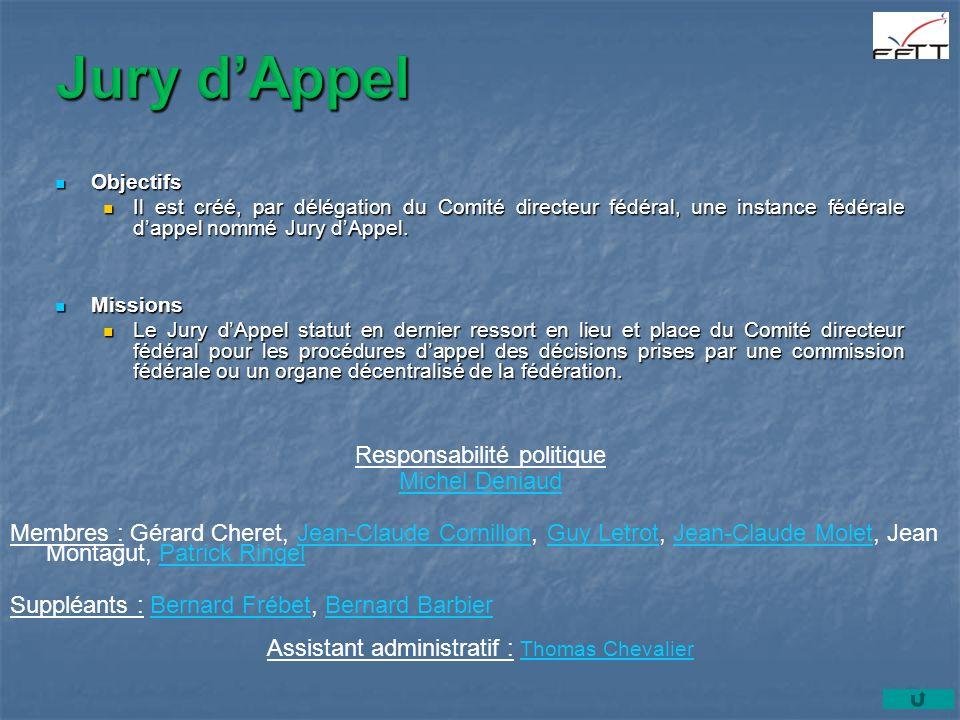 Jury d'Appel Responsabilité politique Michel Deniaud
