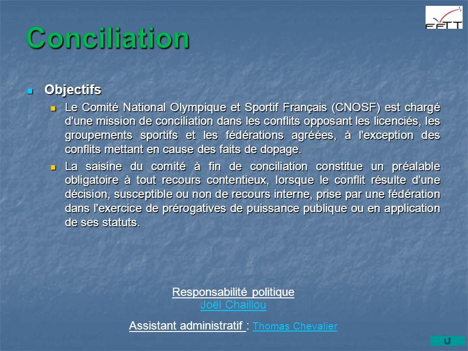 Conciliation Objectifs