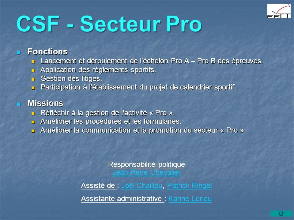 CSF - Secteur Pro Fonctions Missions