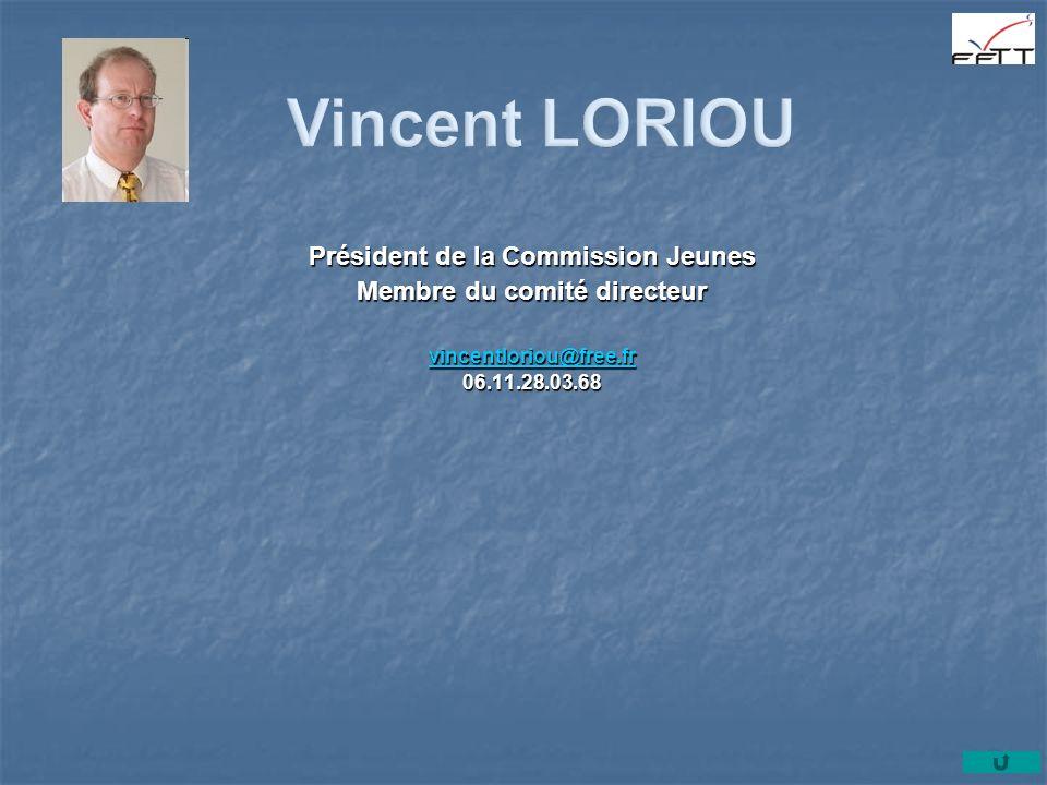 Président de la Commission Jeunes Membre du comité directeur