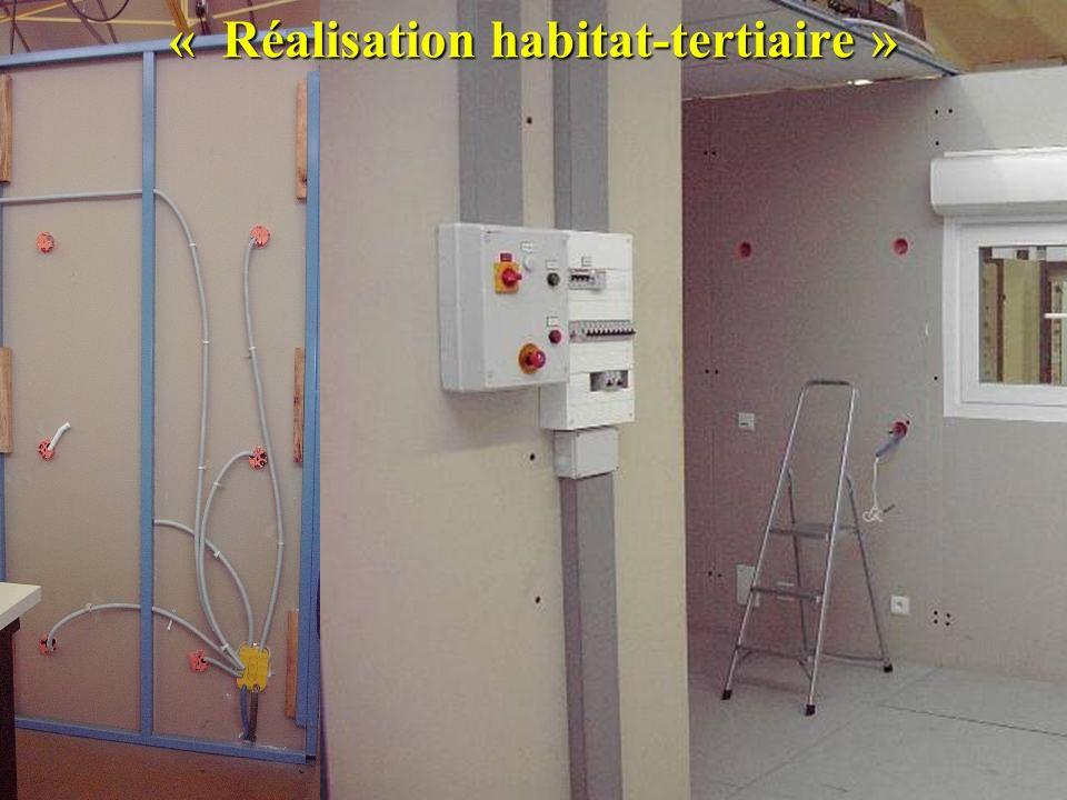 « Réalisation habitat-tertiaire »