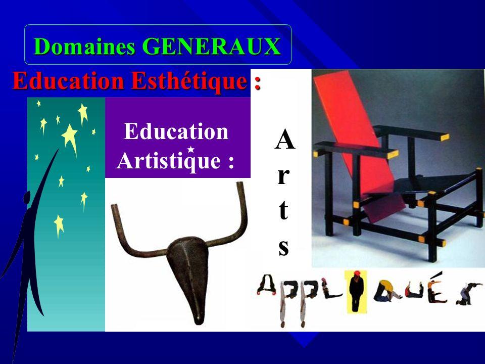 Education Artistique :