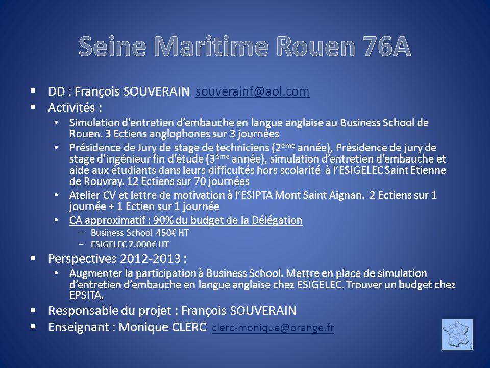 Seine Maritime Rouen 76A DD : François SOUVERAIN souverainf@aol.com