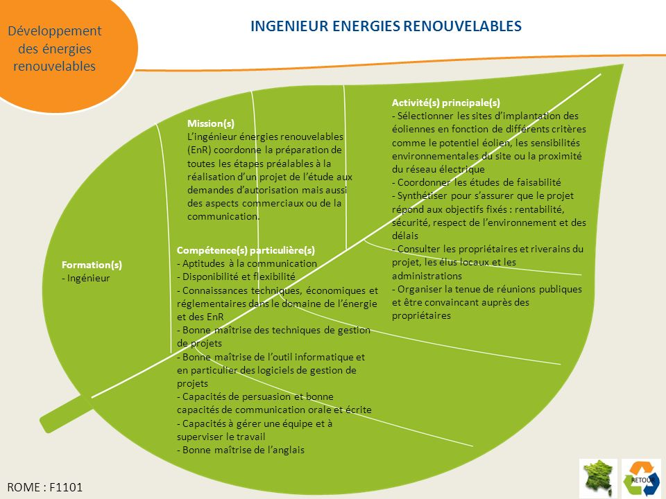 INGENIEUR ENERGIES RENOUVELABLES