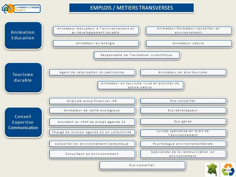 EMPLOIS / METIERS TRANSVERSES