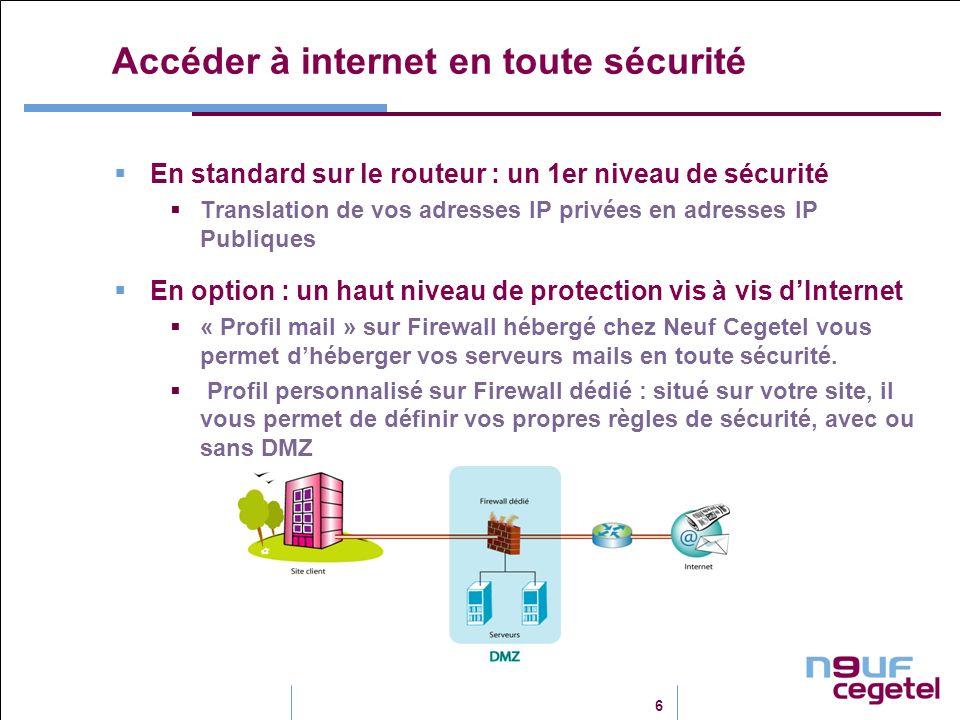 Accéder à internet en toute sécurité