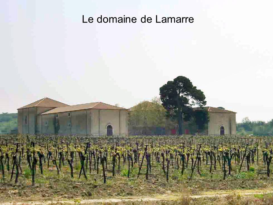 Le domaine de Lamarre