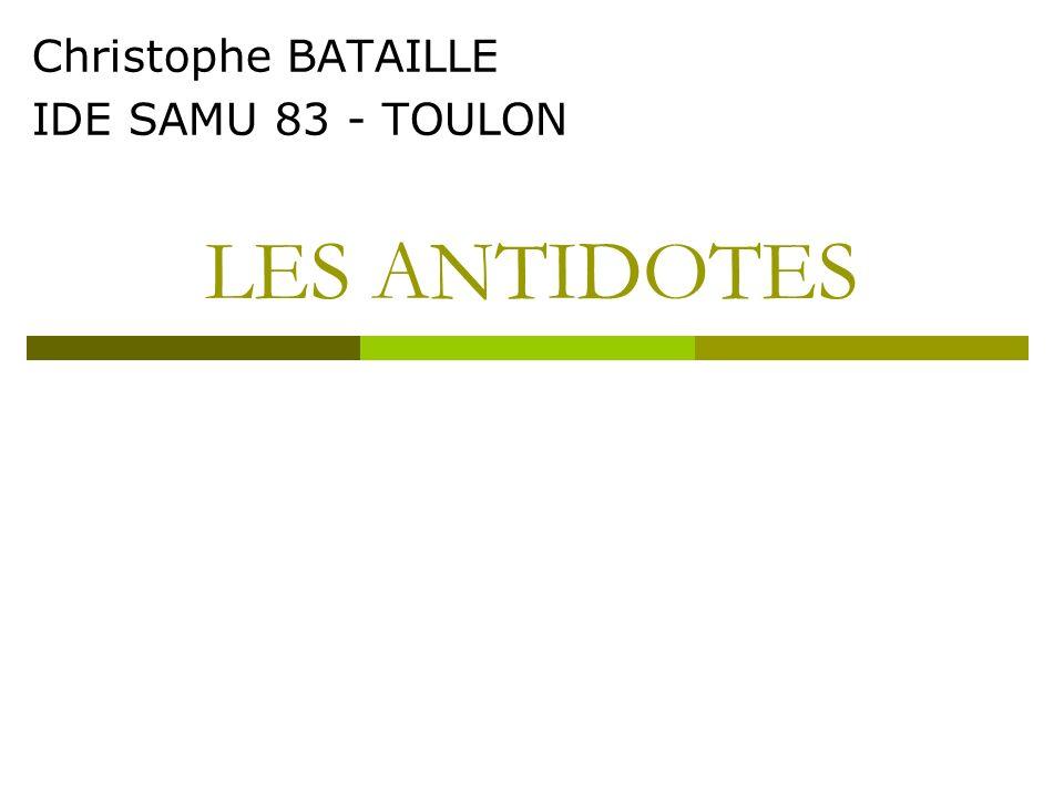 Christophe BATAILLE IDE SAMU 83 - TOULON