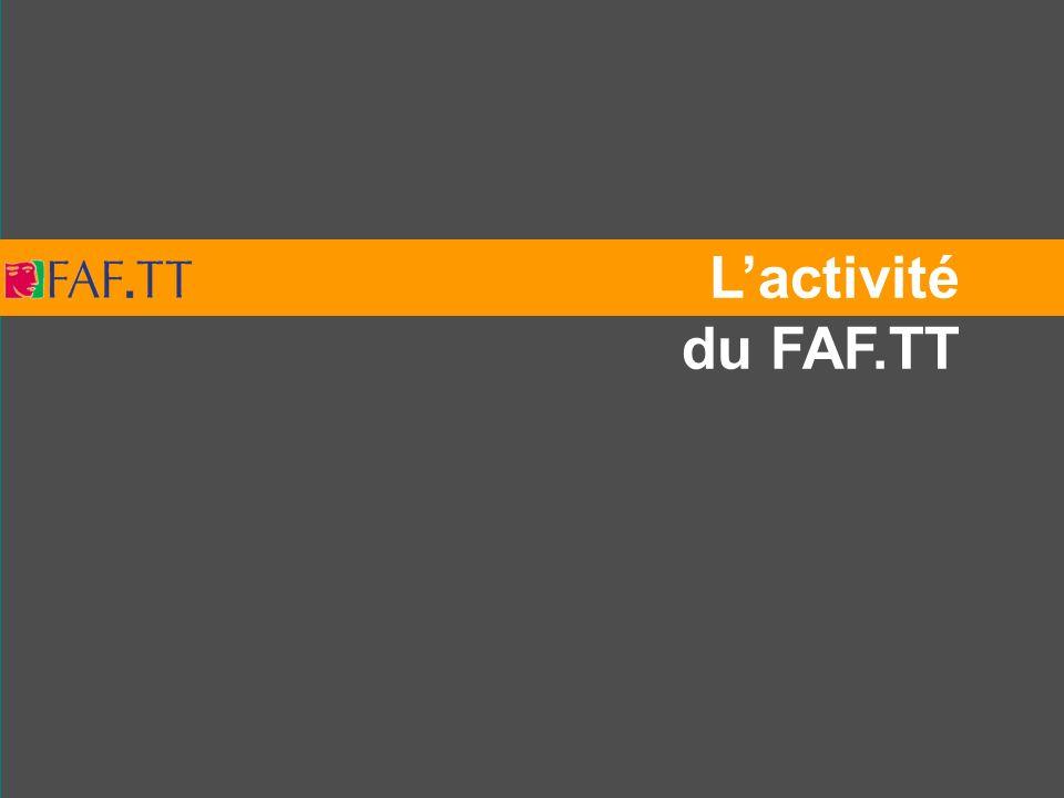L'activité du FAF.TT