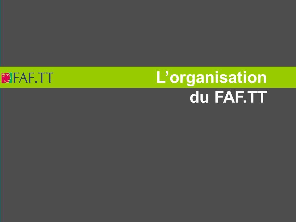 L'organisation du FAF.TT