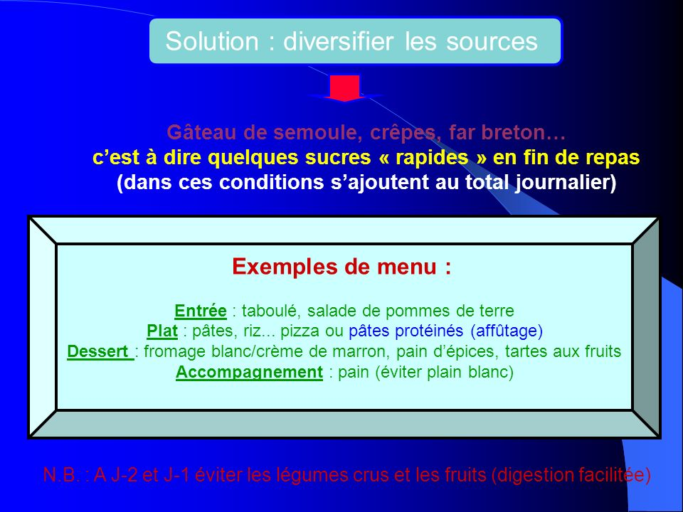 Solution : diversifier les sources