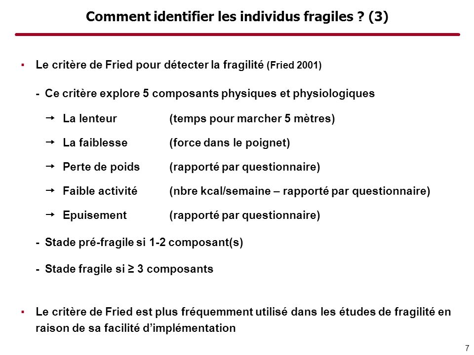 Comment identifier les individus fragiles (3)