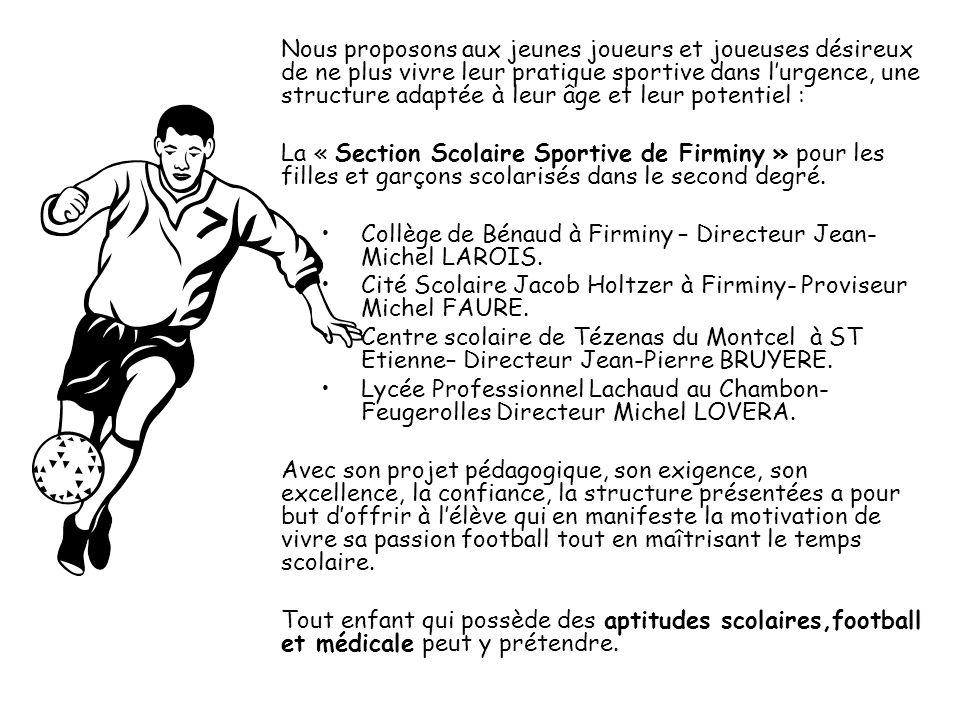 Collège de Bénaud à Firminy – Directeur Jean-Michel LAROIS.