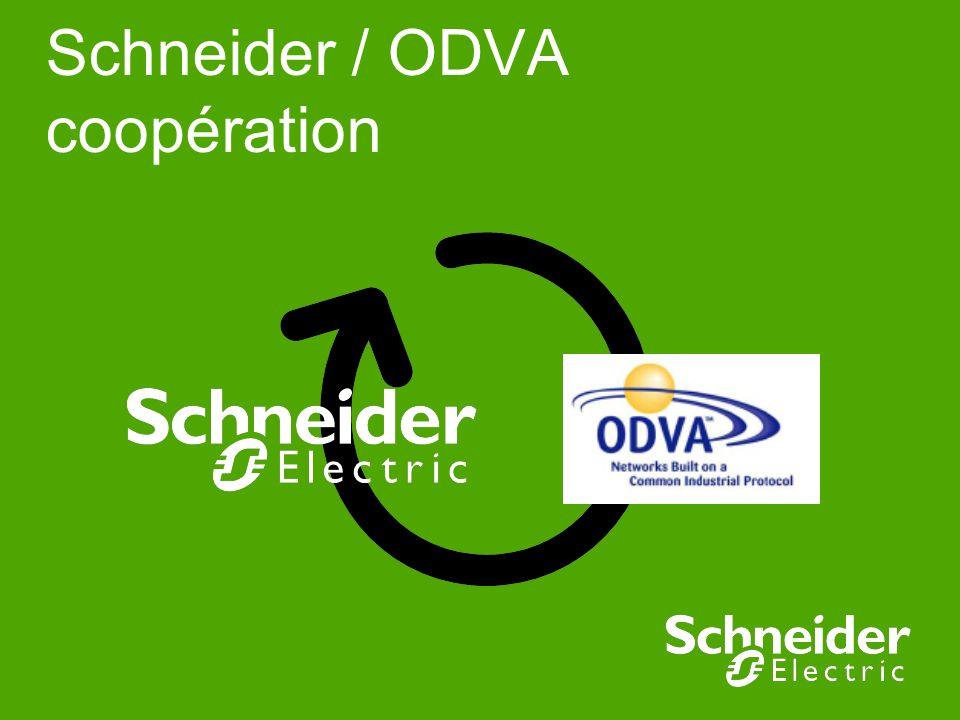 Schneider / ODVA coopération